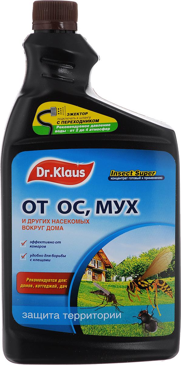 Средство от мух, ос и других насекомых Dr.Klaus Insect Super, концентрат, сменный флакон, 1 л гэлбрейт роберт шелкопряд роман