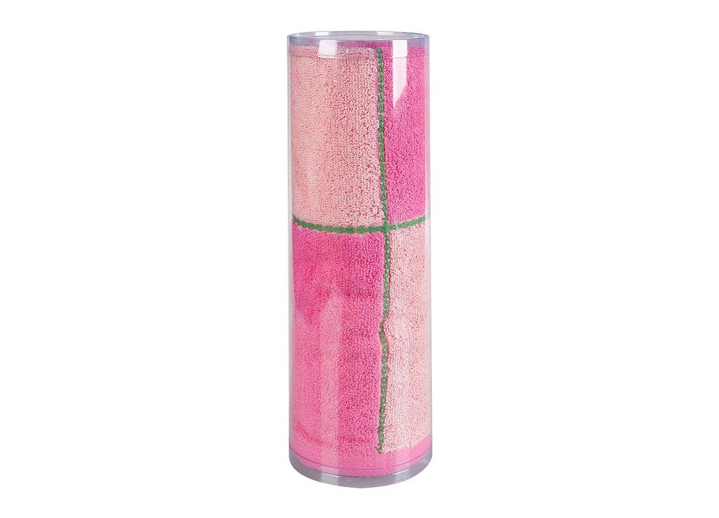 Полотенце махровое Soavita Азия, цвет: розовый, 45 х 90 см83014Махровое полотенце для тела Soavita Азия выполнено из натурального хлопка. Махровое полотно создается из хлопковых нитей, которые, в свою очередь, прядутся из множества хлопковых волокон. Чем длиннее эти волокна, тем прочнее будет нить, и, соответственно, изделие. Длина составляющих хлопковую нить волокон влияет и на фактуру получаемой ткани: чем они длиннее, тем мягче и пушистее получится махровое изделие, тем лучше будет впитывать изделие воду. Хотя на впитывающие качество махры - ее гигроскопичность, не в последнюю очередь влияет состав волокна. Мягкая махровая ткань отлично впитывает влагу и быстро сохнет. Полотенце отлично впитывает влагу, быстро сохнет, сохраняет яркость цвета и не теряет форму даже после многократных стирок.