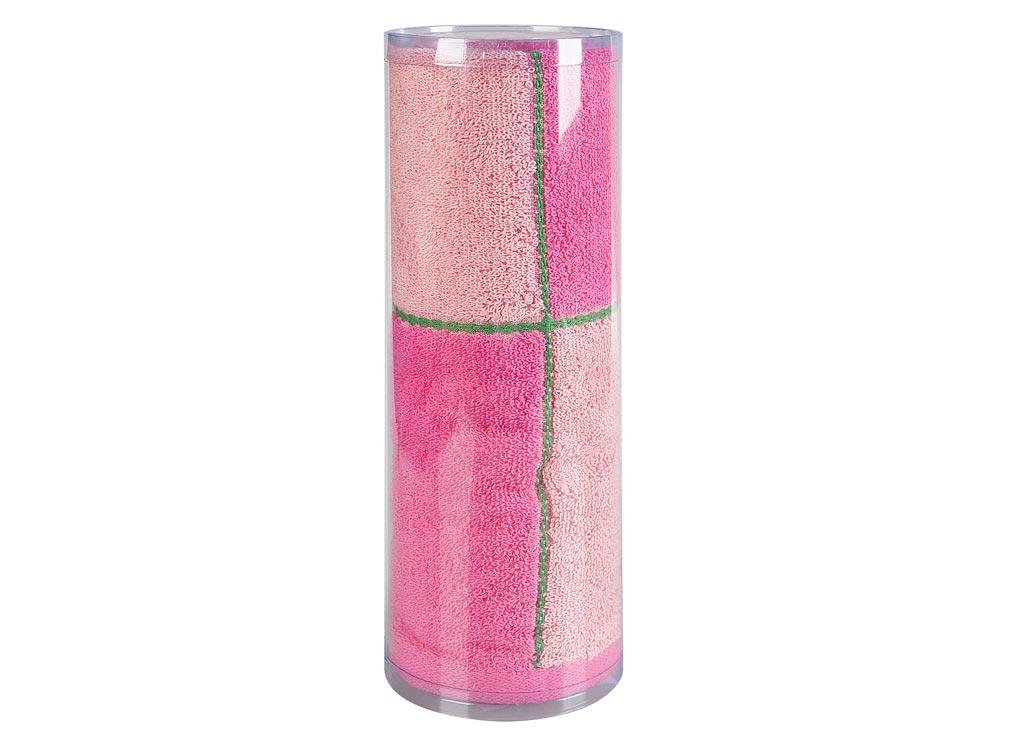 Полотенце махровое Soavita Азия, цвет: розовый, 65 х 135 см83016Махровое полотенце для тела Soavita Азия выполнено из натурального хлопка. Махровое полотно создается из хлопковых нитей, которые, в свою очередь, прядутся из множества хлопковых волокон. Чем длиннее эти волокна, тем прочнее будет нить, и, соответственно, изделие. Длина составляющих хлопковую нить волокон влияет и на фактуру получаемой ткани: чем они длиннее, тем мягче и пушистее получится махровое изделие, тем лучше будет впитывать изделие воду. Хотя на впитывающие качество махры - ее гигроскопичность, не в последнюю очередь влияет состав волокна. Мягкая махровая ткань отлично впитывает влагу и быстро сохнет. Полотенце отлично впитывает влагу, быстро сохнет, сохраняет яркость цвета и не теряет форму даже после многократных стирок.