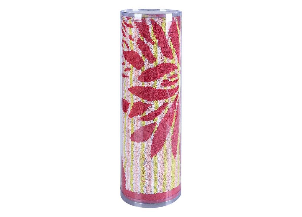 Полотенце махровое Soavita Веер, цвет: розовый, 65 х 130 см83091Махровое полотно создается из хлопковых нитей, которые, в свою очередь, прядутся из множества хлопковых волокон. Чем длиннее эти волокна, тем прочнее будет нить, и, соответственно, изделие. Длина составляющих хлопковую нить волокон влияет и на фактуру получаемой ткани: чем они длиннее, тем мягче и пушистее получится махровое изделие, тем лучше будет впитывать изделие воду. Хотя на впитывающие качество махры – ее гигроскопичность, не в последнюю очередь влияет состав волокна. Мягкая махровая ткань отлично впитывает влагу и быстро сохнет. Soavita – это популярный бренд домашнего текстиля. Дизайнерская студия этой фирмы находится во Флоренции, Италия. Производство перенесено в Китай, чтобы сделать продукцию более доступной для покупателей. Таким образом, вы имеете возможность покупать продукцию европейского качества совсем не дорого. Домашний текстиль прослужит вам долго: все детали качественно прошиты, ткани очень плотные, рисунок наносится безопасными для здоровья красителями, не линяет и держится много лет. Все изделия упакованы в подарочные упаковки.