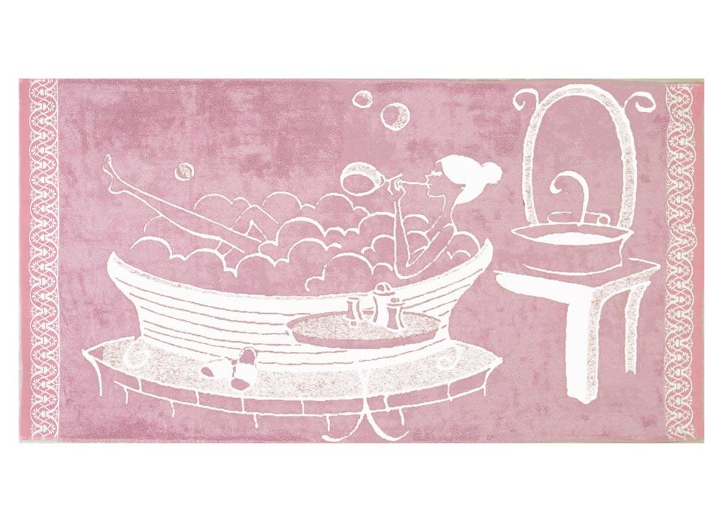 Полотенце Soavita Premium. Женское, 70 х 140 см45592Полотенце для тела Soavita Premium. Женское выполнено из натурального хлопка и оформлено оригинальным рисунком. Изделие отлично впитывает влагу, быстро сохнет, сохраняет яркость цвета и не теряет форму даже после многократных стирок. Полотенце очень практично и неприхотливо в уходе.
