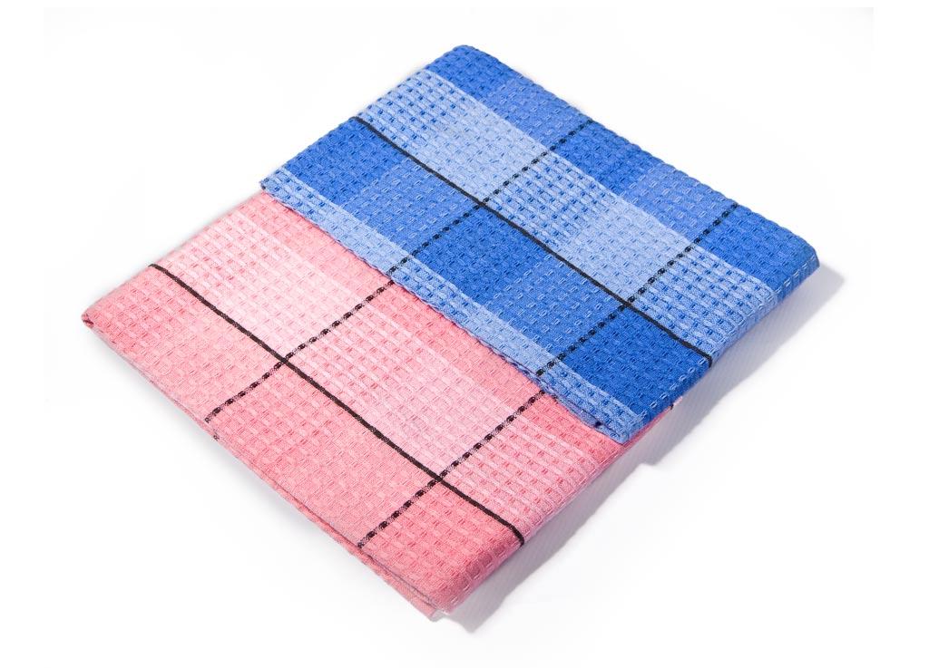 Набор кухонных полотенец Soavita Клетка, цвет: синий, розовый, 40 х 70 см, 3 шт52339Набор Soavita Клетка состоит из 3 полотенец. Изделия выполнены из хлопка. Полотенца используются для протирки различных поверхностей, также широко применяются в быту.Такой набор станет отличным вариантом для практичной и современной хозяйки.Перед использованием постирать при температуре не выше 40 градусов.