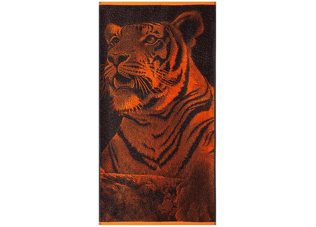 """Полотенце Soavita """"Premium. Тигр"""" выполнено из  100%  хлопка. Изделие  отлично впитывает влагу, быстро сохнет, сохраняет  яркость цвета и не теряет  форму даже после  многократных стирок.  Полотенце очень практично и неприхотливо в уходе. Оно  создаст прекрасное  настроение и  украсит интерьер в ванной комнате."""
