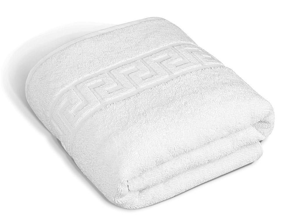 Полотенце Soavita Luxury. Жаккард, цвет: белый, 50 х 90 см65108Махровое полотно создается из хлопковых нитей, которые, в свою очередь, прядутся из множества хлопковых волокон. Чем длиннее эти волокна, тем прочнее будет нить, и, соответственно, изделие. Длина составляющих хлопковую нить волокон влияет и на фактуру получаемой ткани: чем они длиннее, тем мягче и пушистее получится махровое изделие, тем лучше будет впитывать изделие воду. Хотя на впитывающие качество махры – ее гигроскопичность, не в последнюю очередь влияет состав волокна. Мягкая махровая ткань отлично впитывает влагу и быстро сохнет. Soavita – это популярный бренд домашнего текстиля. Дизайнерская студия этой фирмы находится во Флоренции, Италия. Производство перенесено в Китай, чтобы сделать продукцию более доступной для покупателей. Таким образом, вы имеете возможность покупать продукцию европейского качества совсем не дорого. Домашний текстиль прослужит вам долго: все детали качественно прошиты, ткани очень плотные, рисунок наносится безопасными для здоровья красителями, не линяет и держится много лет. Все изделия упакованы в подарочные упаковки.
