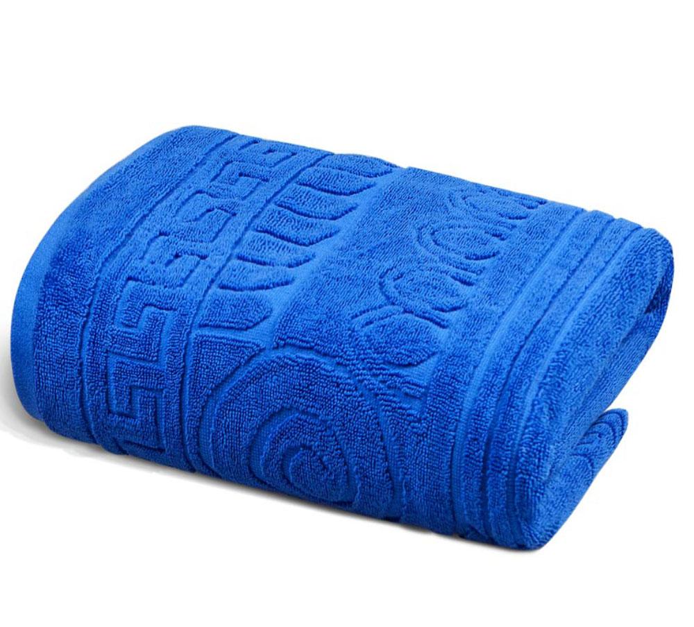 Полотенце Soavita Premium. Капитель, цвет: синий, 45 х 80 см