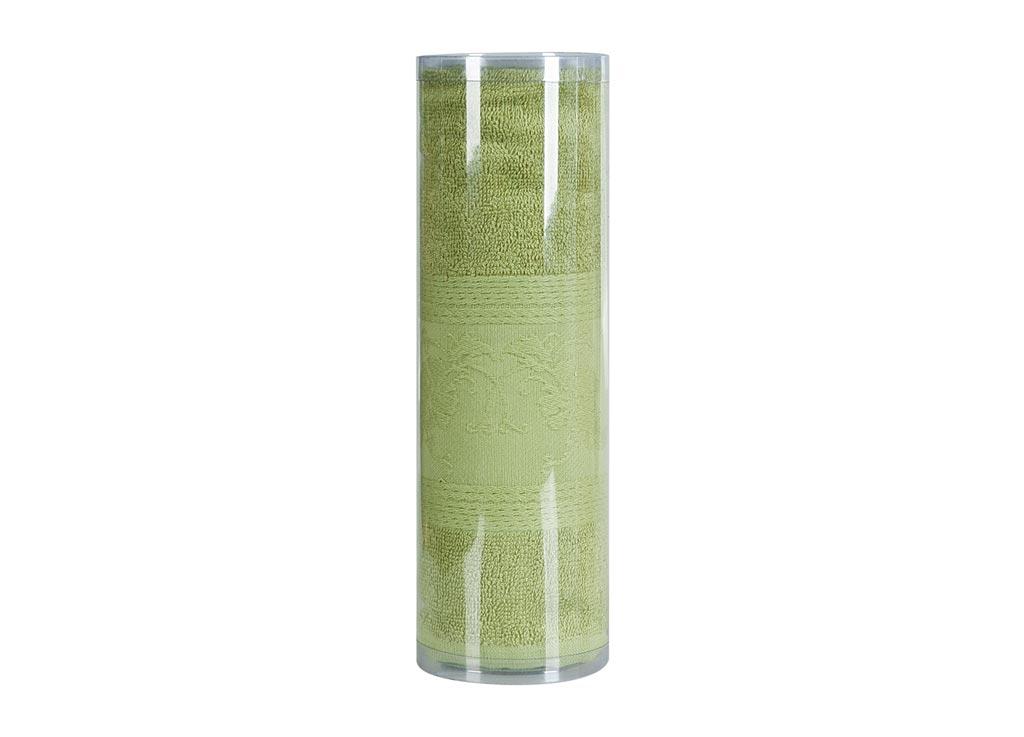 Полотенце махровое Soavita Eo. Цветы, цвет: зеленый, 50 х 70 см полотенце махровое soavita eo вояж цвет розовый 50 х 90 см