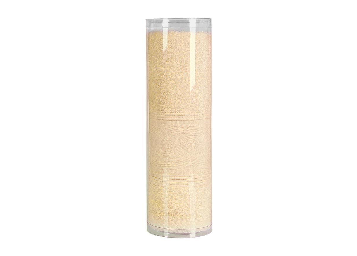 Полотенце махровое Soavita Eo, цвет: желтый, 45 х 90 см полотенце махровое soavita eo вояж цвет розовый 50 х 90 см