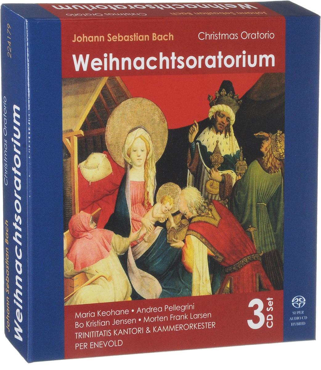 Per Enevold,Trinitatis Kantori & Kammerorkester Per Enevold. Johann Sebastian Bach. Weihnachtsoratorium (3 SACD) johann georg albrechtsberger albrechtsberger concerto per trombone alto ed archi