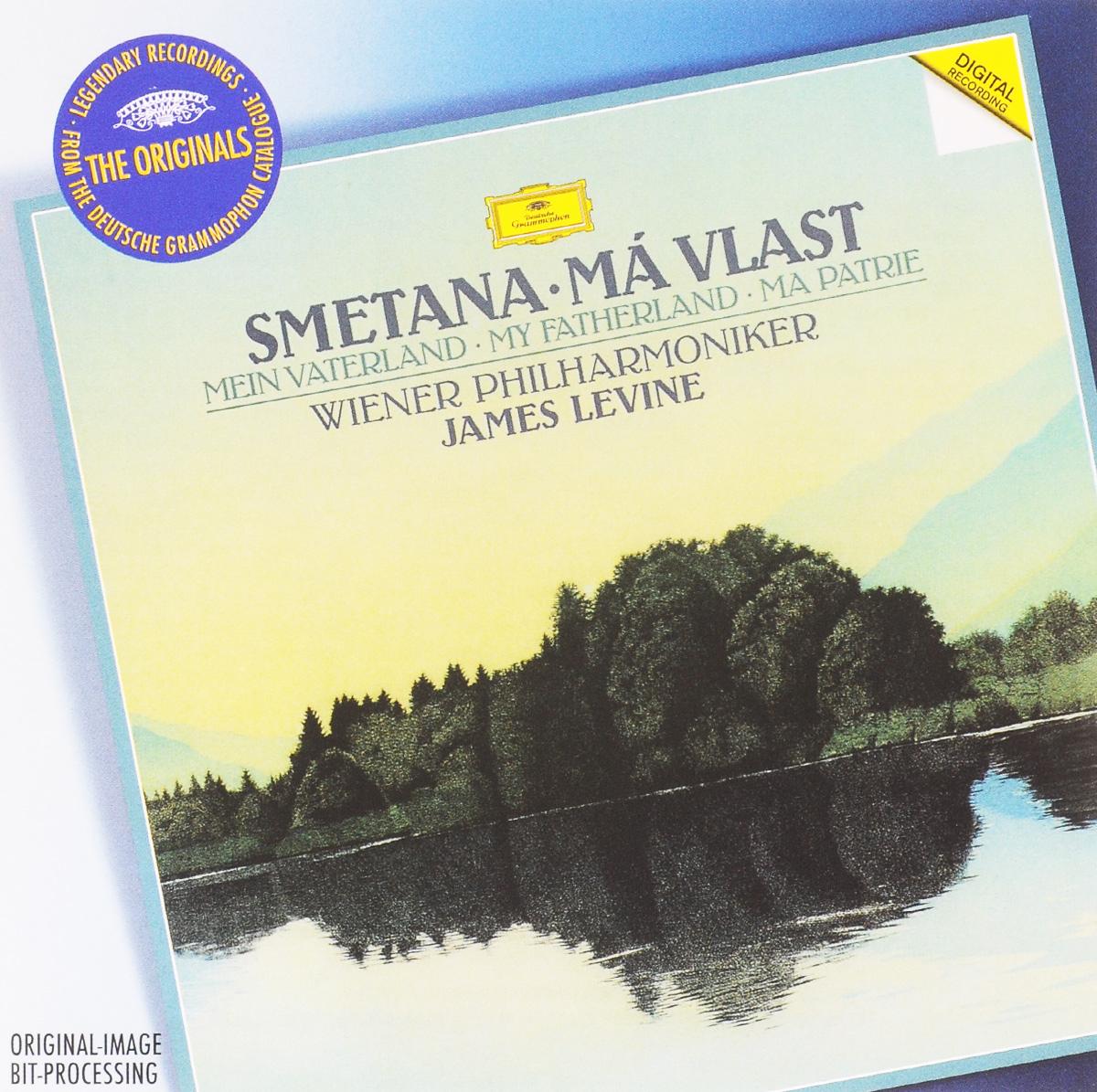Джеймс Левайн,Wiener Singverein - Wiener Philharmoniker James Levine, Wiener Philharmoniker. Smetana. Ma Vlast