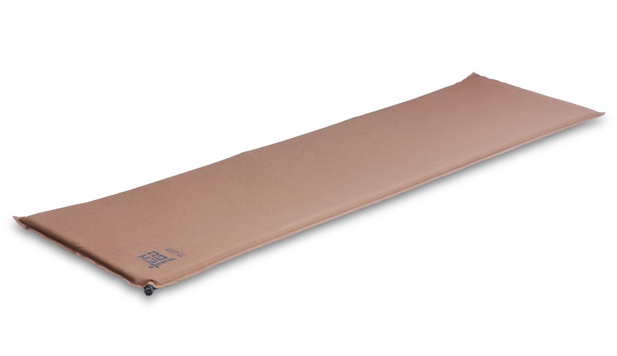 Коврик самонадувающийся Tengu MK 3.05M, цвет: оливковый. 7305.25717305.2571Tengu MK 3.05M - облегченный универсальный самонадувающийся туристический коврик. Это легкий и компактный коврик для армейских подразделений. Для уменьшения веса имеет вертикальную и горизонтальную перфорацию. Коврик полноразмерный, длиной 183 см и шириной 51 см. Внешняя ткань коврика усилена плетением Rip Stop. Нижняя часть коврика из прочной ткани со специальным нескользким покрытием, предотвращающим скольжение коврика внутри палатки.Вес коврика всего 900 грамм с чехлом.Внимание! Во время первого использования коврик необходимо надуть самостоятельно. При дальнейшем использовании коврик будет надуваться сам после открытия клапана.