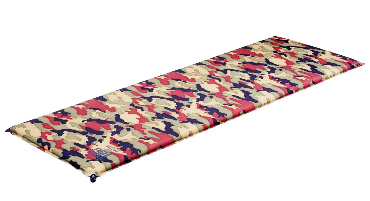 Коврик самонадувающийся Tengu MK 3.07M, цвет: вудланд, оливковый. 7307.3120