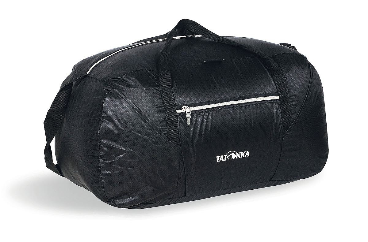 Сумка складная Tatonka Squeezy Duffle M, цвет: черный, 48 л сумка для медикаментов tatonka first aid family цвет красный