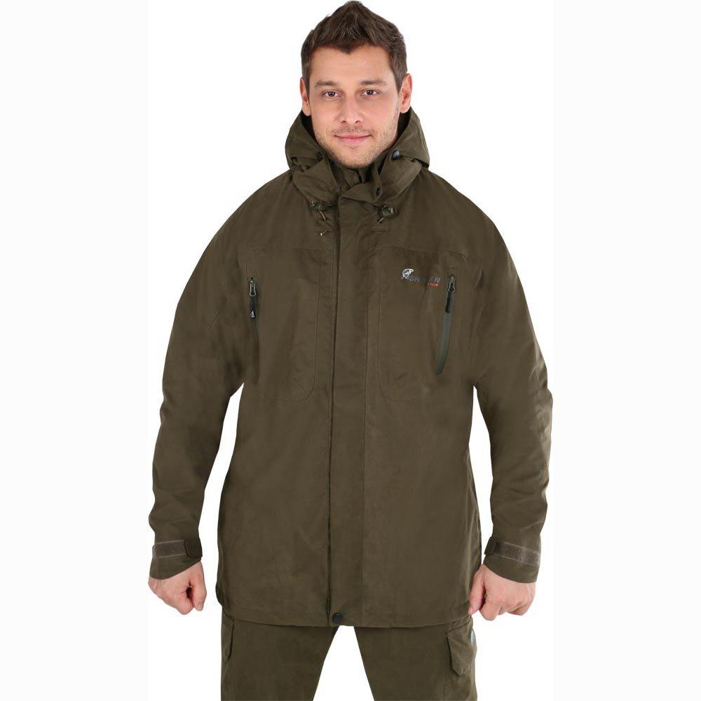 Куртка мужская рыболовная FisherMan Nova Tour Коаст, цвет: хаки. 46033-530. Размер XS (48)
