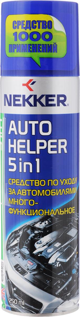 Средство по уходу за автомобилями Nekker, многофункциональное, 250 мл66600707Многофункциональное средство Nekker позволяет быстро и эффективно разъединить ржавые и прикипевшие резьбовые соединения. Очищает поверхности от старой смазки, засохшего масла, гудрона, смолы и других сильных загрязнений. Предотвращает заедания, закисания резьбовых и других соединений. Уменьшает трение и износ подвижных деталей.Состав: нефтяной растворитель, минеральное масло, полиметилсилоксановая жидкость, ингибитор коррозии, целевые добавки, пропеллент углеводородный.Товар сертифицирован.