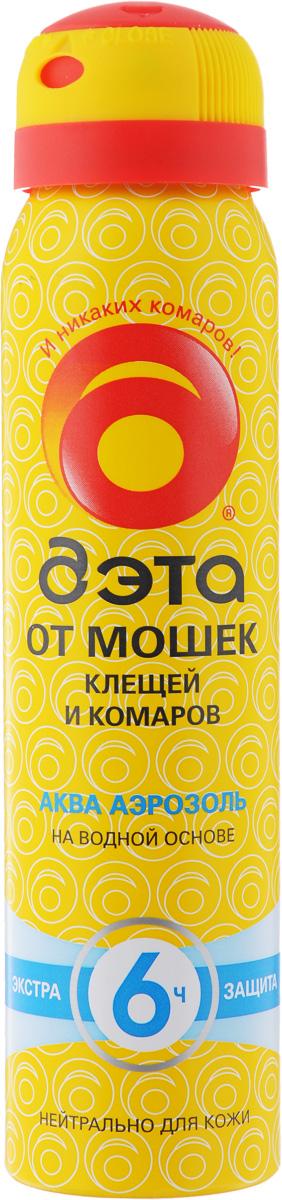Аэрозоль от мошек, клещей и комаров Дэта Аква, 100 мл tm chocolatte биотоник для лица аква баланс с пребиотиками 100 мл
