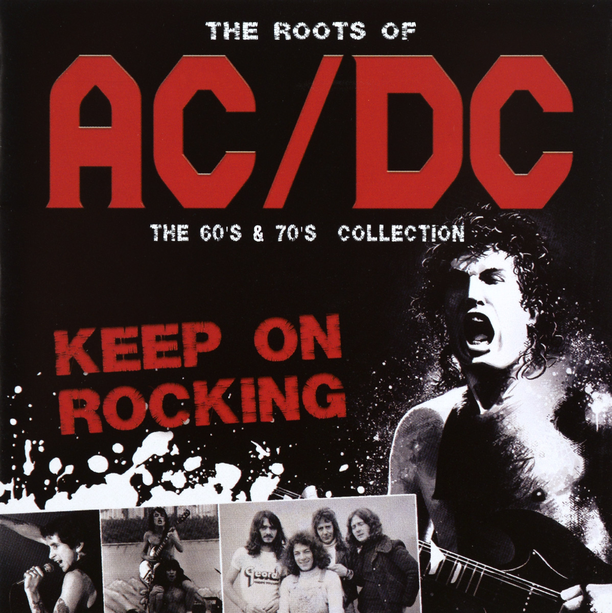 The Roots Of AC/DC. Keep On Rocking (2 CD) cd ac dc the razor's edge special edition digipack