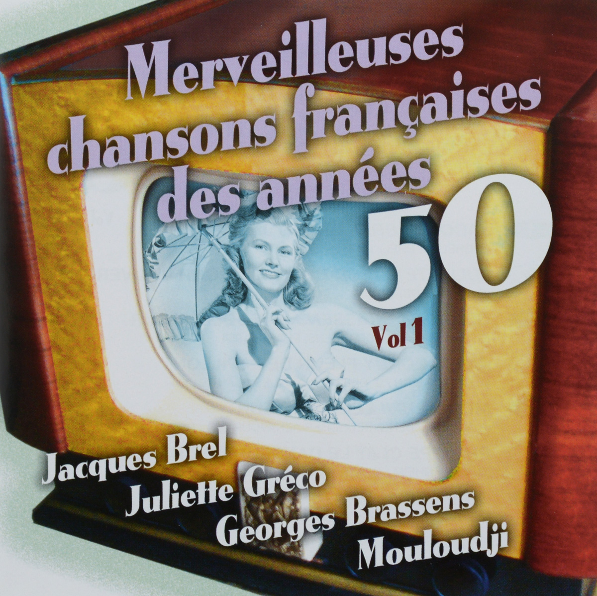 VARIOUS ARTISTS. CHANSONS FRANCAISES DES ANNEES 50 VOL. 1 various artists 80s disco stars live from moskau vol 1