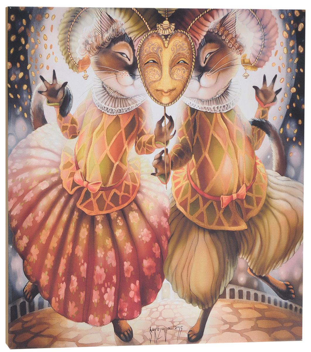 КвикДекор Картина детская БлизнецыAP-00873-00089-Cn5050Картина КвикДекор Близнецы - это прекрасное украшение для вашей гостиной, детской или спальни. Она привнесет в интерьер яркий акцент и сделает обстановку комфортной и уютной.Автор картины - Надежда Соколова - родилась в 1973 году в городе Дрездене. В 1986-1990 годах училась в Художественной школе города Новгорода. В 1995 году окончила с отличием рекламное отделение Новгородского училища культуры. В 2000 году защитила диплом на факультете Искусств и Технологий НовГУ имени Ярослава Мудрого. Выставляется с 1996 года. Работает в техниках: живопись, графика, батик, лаковая миниатюра, авторская кукла. Является автором оригинального стиля в миниатюре.Изделие представляет собой картину с латексной печатью на натуральном хлопчатобумажном холсте. Галерейная натяжка на деревянный подрамник выполнена очень аккуратно, а боковые части картины запечатаны тоновой заливкой. Обратная сторона подрамника содержит отверстие, благодаря которому картину можно легко закрепить на стене и подкорректировать ее положение.Картина Близнецы - это отличный подарок и красивое интерьерное украшение!