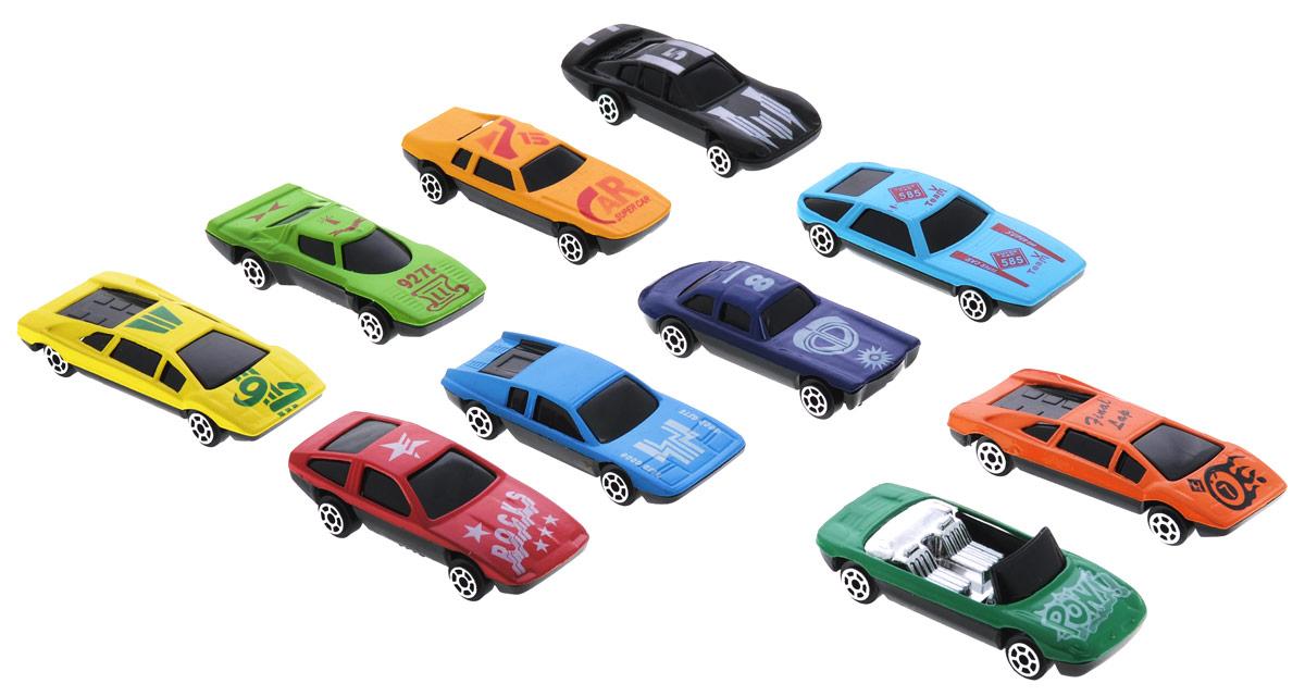 Shantou Набор машинок Turbo Racer 10 шт defender game racer turbo usb в харькове