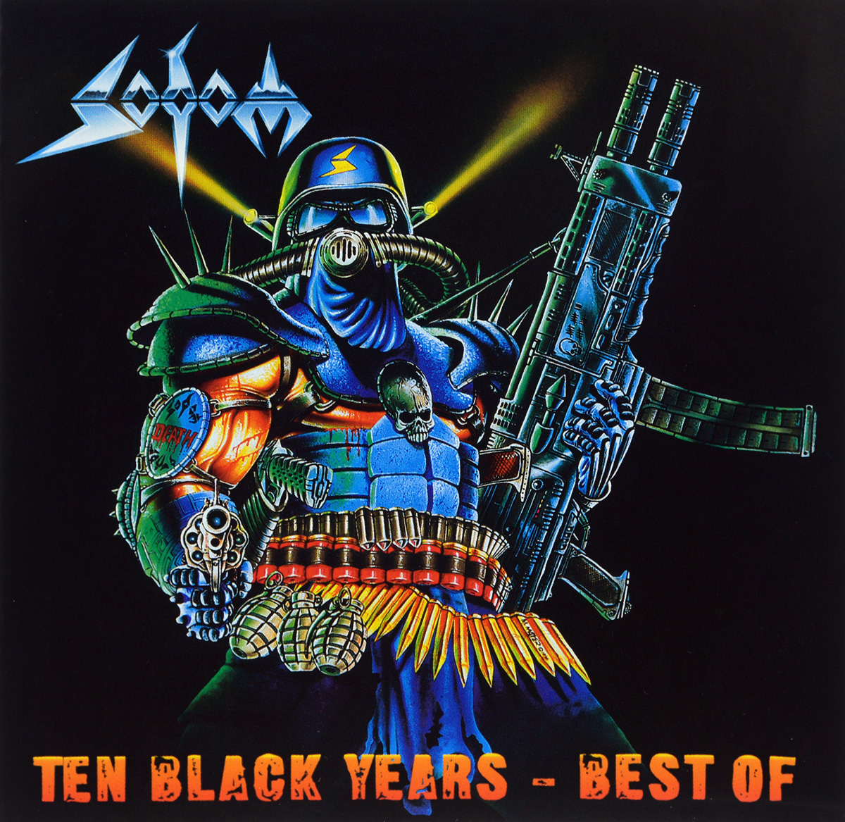 Sodom Sodom. Ten Black Years - Best Of (2 CD) стинг sting the best of 25 years 2 cd