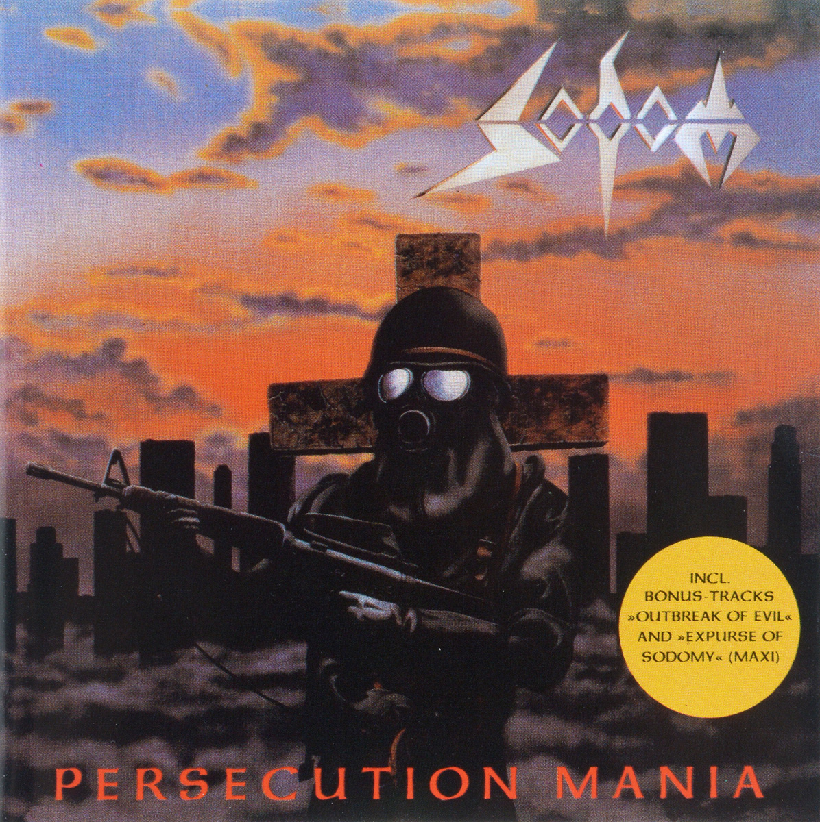 Sodom Sodom. Persecution Mania sodom sodom official bootleg the witchhunter decade limited edition 2 lp