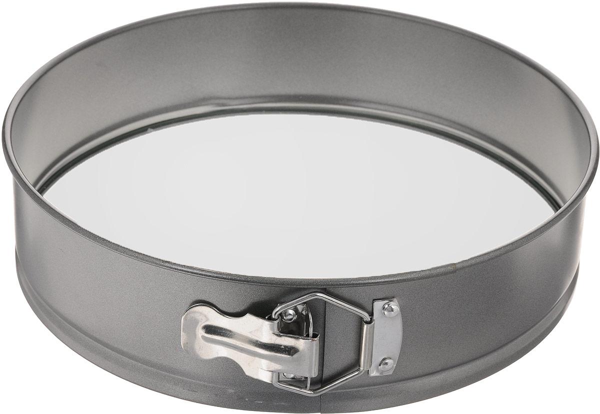 Форма для выпечки Mayer & Boch Unico, разъемная, с антипригарным покрытием, со стеклянным дном, диаметр 28 см3136Форма Mayer & Boch Unico изготовлена из высококачественной углеродистой стали с антипригарным покрытием. Форма имеет разъемный механизм и съемное дно из закаленного жаропрочного стекла, поэтому вынимать из нее готовую выпечку очень легко. Антипригарное покрытие формы, как и стеклянное дно, не вступает в реакцию с продуктами питания. Выпечка в данной форме не пригорает и не прилипает к стенкам. Форма Mayer & Boch Unico идеально подходит для выпечки кондитерских изделий. Подходит для использования в духовках. Не подходит для использования в микроволновой печи.Диаметр формы: 28 см.Высота: 7 см.