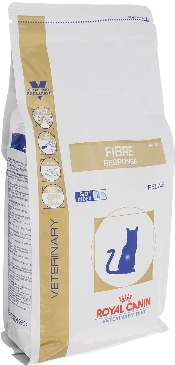 Корм сухой для кошек Royal Canin Fibre Response, диетический, при острых и хронических запорах, 2 кг35174Сухой диетическийкорм Royal Canin Fibre Response предназначен для кошек приостром или хроническом запоре. Противопоказан при кишечной непроходимостии расширении толстого кишечника (мегаколон).Длительность курса применения: При первых проявлениях заболевания применять в течение 3-4 недель. При хронических запорах необходимо длительное применение диеты. Сочетание высокоусвояемых белков (L. I. P. белки), пребиотиков, свекольногожома, риса и рыбьего жира обеспечивает максимальную защиту пищеварительнойсистемы. Высокое содержание разных видов клетчатки (в том числе подорожника) улучшаеткишечный транзит и размягчает фекалии у кошек, страдающих от запоров и низкоймоторики кишечника. Длинноцепочечные жирные кислоты Омега 3 (эйкозапентаеновая идокозагексаеновая) уменьшают кожные реакции и обеспечивают целостностьслизистой оболочки кишечника. Комплекс антиоксидантов синергичного действия снижает уровеньокислительного стресса и борется со свободными радикалами. Полезная информация: Специфическая комбинация определенных видов клетчатки способствуетформированию фекалий нормальной консистенции, не вызывает диареи,способствует улучшению прохождения содержимого кишечника и таким образомоблегчает процесс дефекации у кошек, страдающих запорами. Состав: дегидратированный белок птицы, рис, кукуруза, пшеничная клейковина,животные жиры, кукурузная клейковина, оболочка и семена подорожника,гидролизат белков животного происхождения, экстракт цикория, минеральныевещества, яичный порошок, рыбий жир, дрожжи, соевое масло,фруктоолигосахариды (ФОС), экстракт дрожжей (источник маннановыхолигосахаридов), экстракт бархатцев прямостоячих (источник лютеина).br>Питательные добавки:Витамин А: 22000 МЕ, Витамин D3: 800 МЕ, Железо: 39 мг, Йод: 3 мг, Медь: 7 мг,Марганец: 51 мг, Цинк: 168 мг, Селен: 0,07 мг, Антиоксиданты.Содержание питательных веществ (на 100 г продукта): белки 31%, жиры 15%, минераль