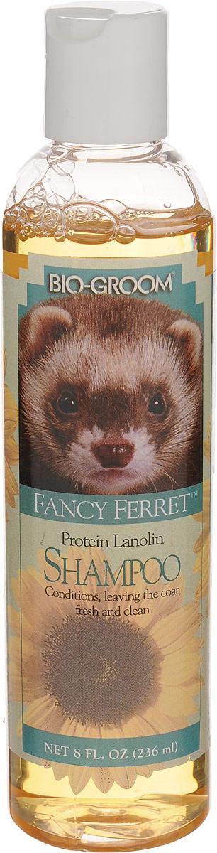 Шампунь для хорьков Bio-Groom  Fancy Ferret , с протеином и ланолином, 236 мл - Средства для ухода и гигиены