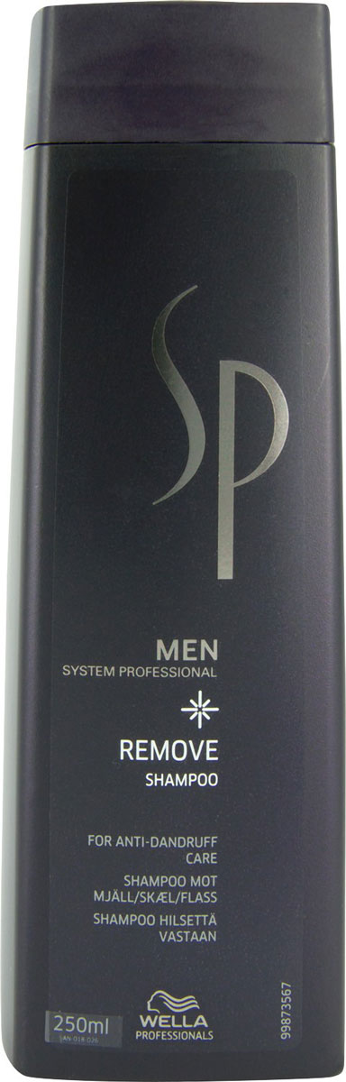 Wella SP Шампунь против перхоти Men Removing Shampoo, 250 мл