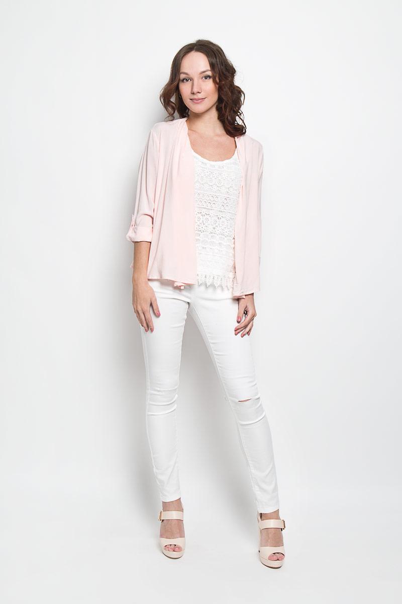Кардиган женский Broadway Gracyn, цвет: нежно-розовый. 10156351 387. Размер M (46) женский кардиган 013a56