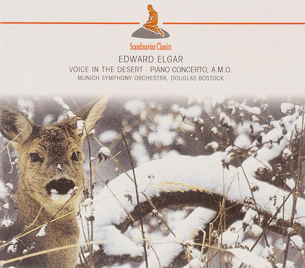 Дуглас Босток,Munich Symphony Orchestra Scandinavian Classics. Douglas Bostock, Munich Symphony Orchestra. Edward Elgar. Voice In The Desert / Piano Concerto, A.M.O.