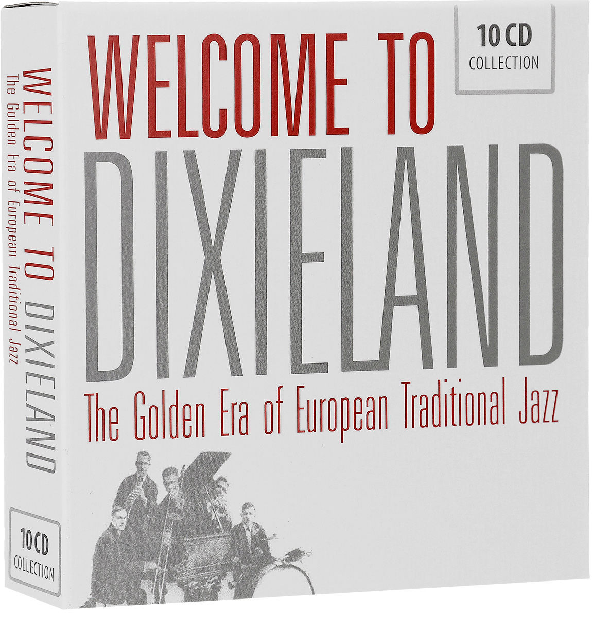 Welcome To Dixieland. The Golden Era Of European Traditional Jazz (10 CD) the jazz cafe 3 cd