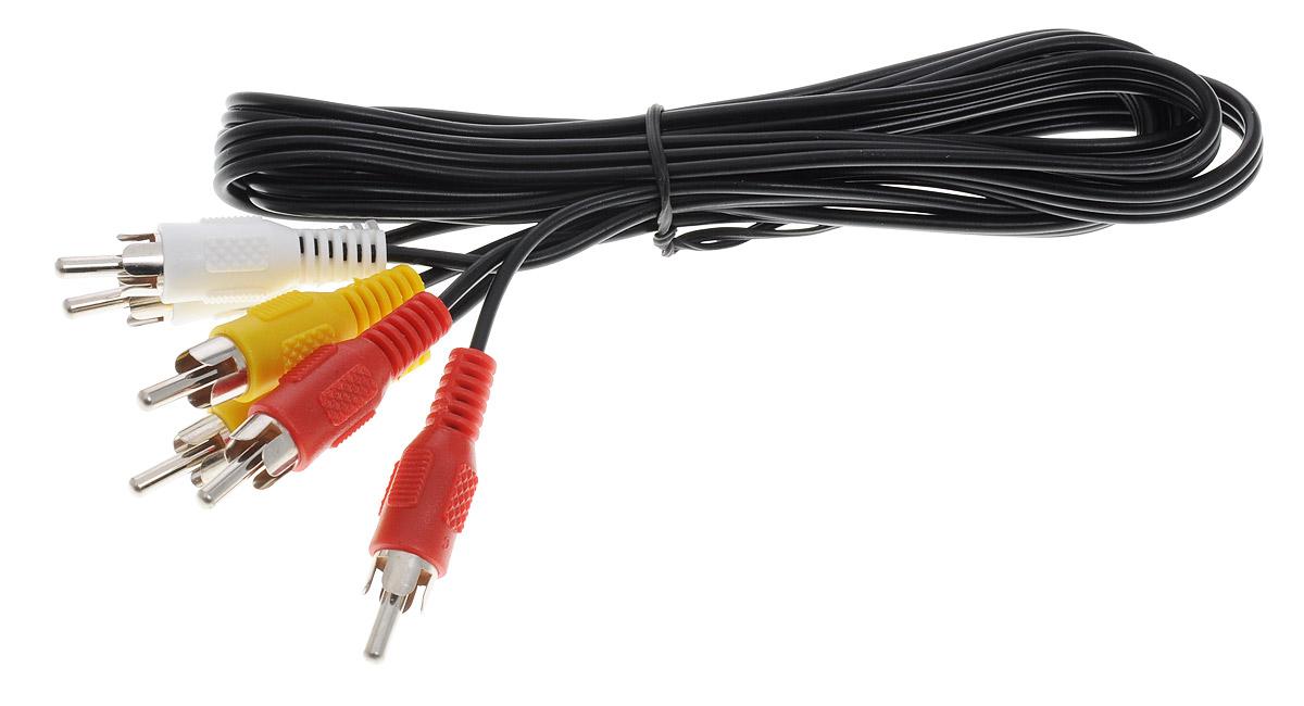 DVTech CB 501 кабель AV 2 м игровая приставка dvtech pilgrim 2 4 3 lcd 350 игр black orange