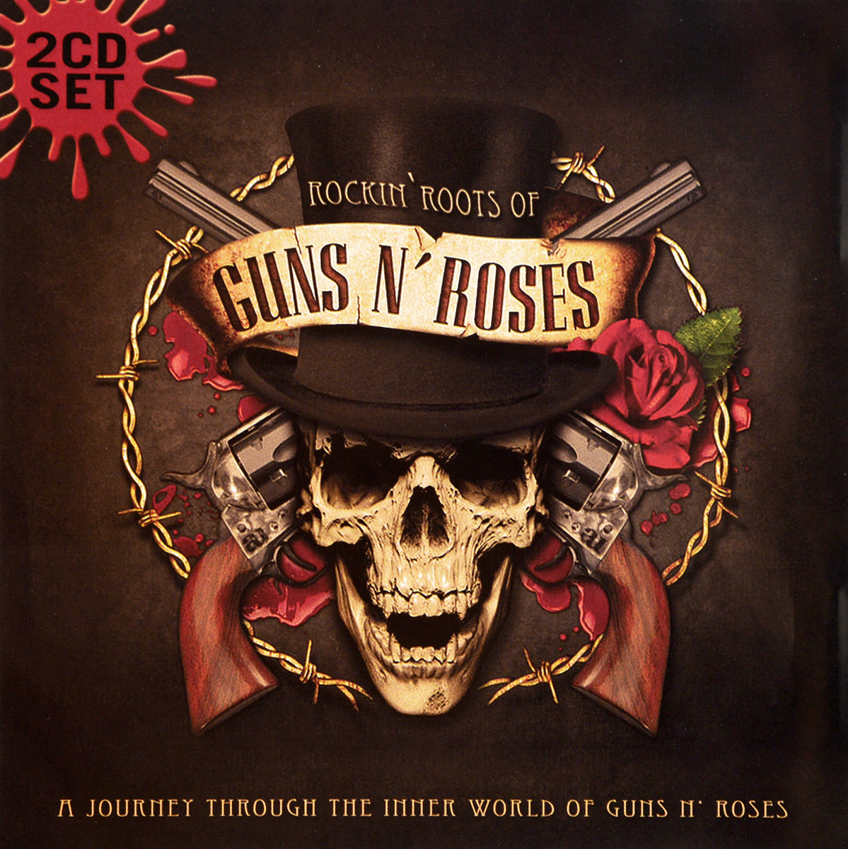 Guns N' Roses Guns N' Roses. Rockin' Roots Of Guns N' Roses (2 CD) футболка стрэйч printio guns n roses