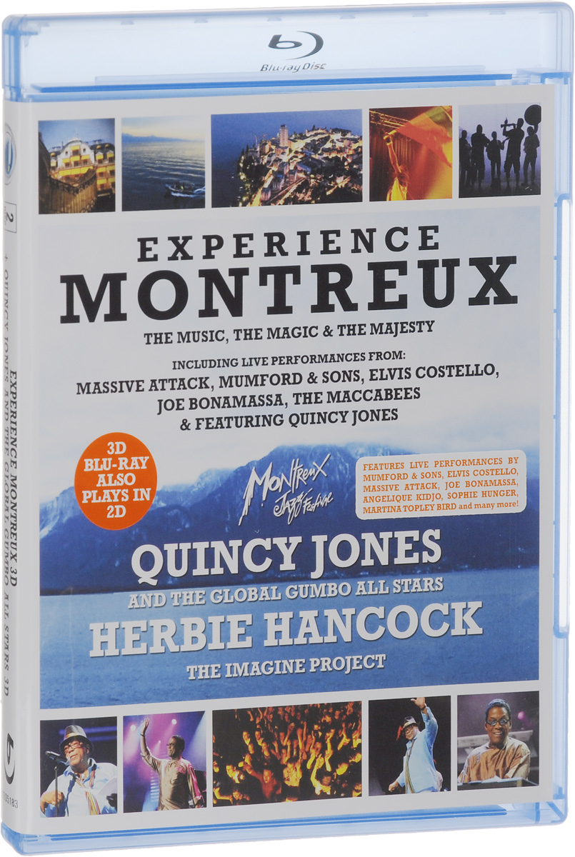 Experience Montreux: Quincy Jones And The Global Gumbo All Stars: Herbie Hancock: The Imagine Project 3D + 2D (2 Blu-ray) yes live at montreux 2003 blu ray