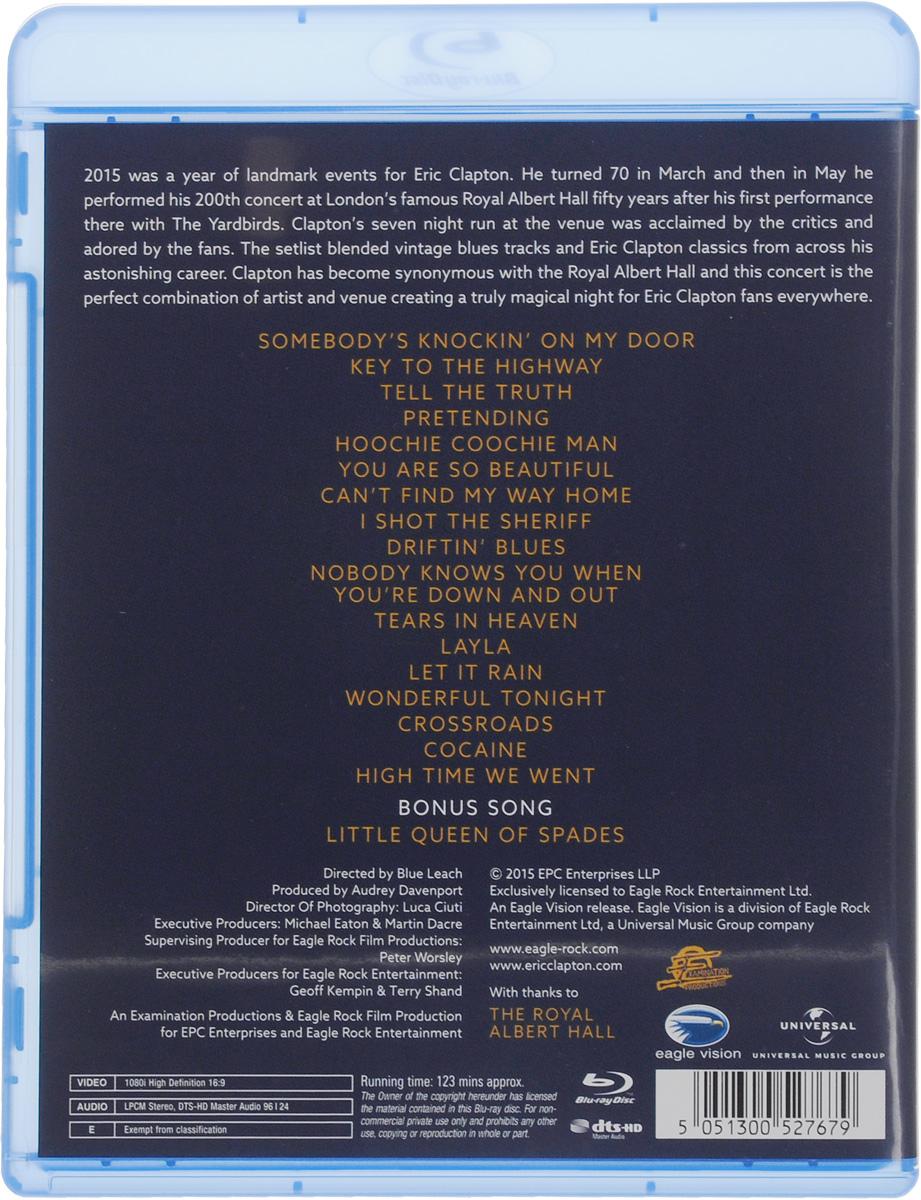 Eric Clapton:  Slowhand At 70:  Live At The Royal Albert Hall (Blu-ray) Eagle Vision