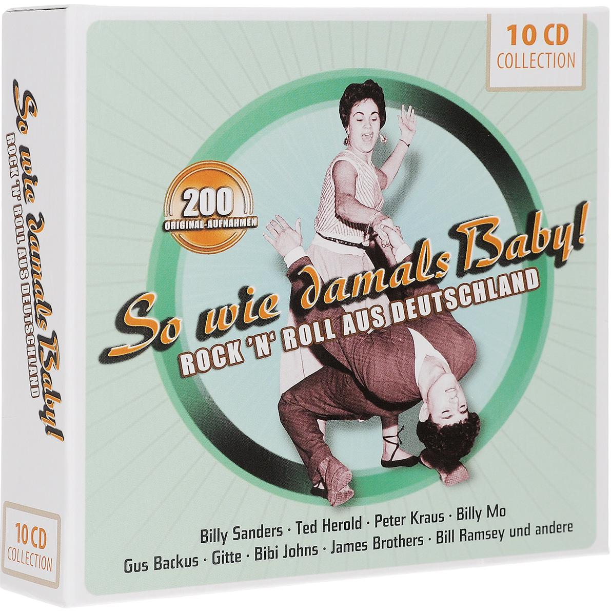 цена на So Wie Damals Baby! Rock 'N' Roll Aus Deutschland (10 CD)
