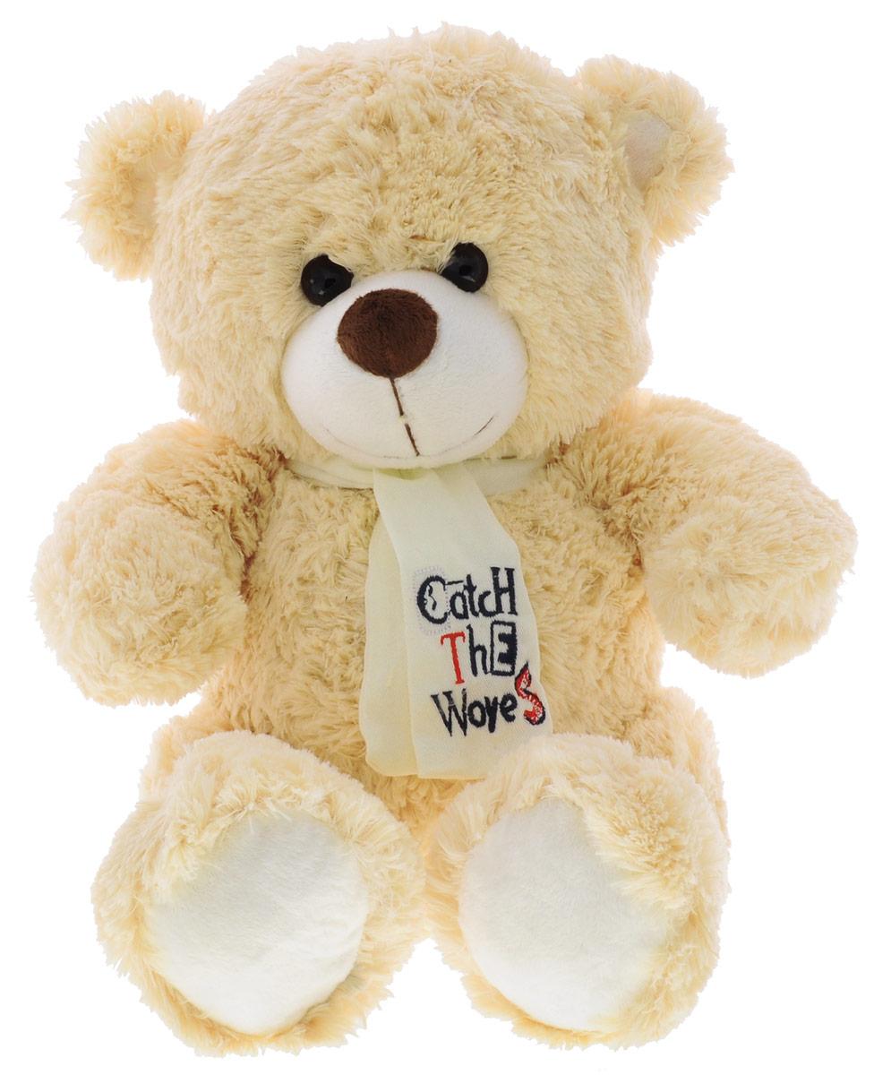 Button Blue Мягкая игрушка Медведь Тишка с галстуком 30 см игрушка ecx ruckus gray blue ecx00013t1