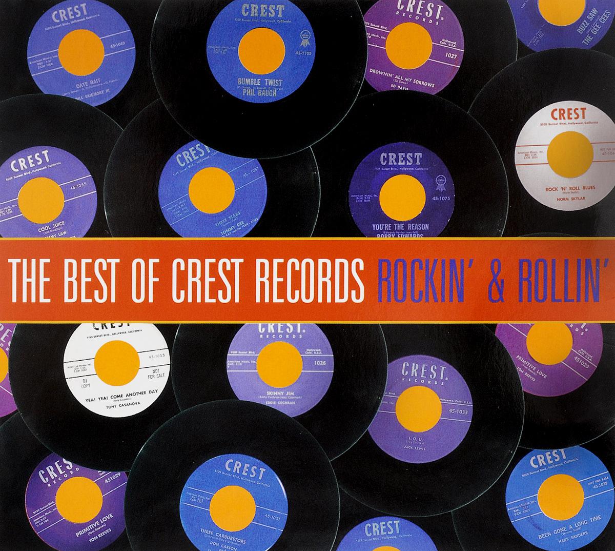 The Best Of Crest Records. Rockin' & Rollin' crest 200g