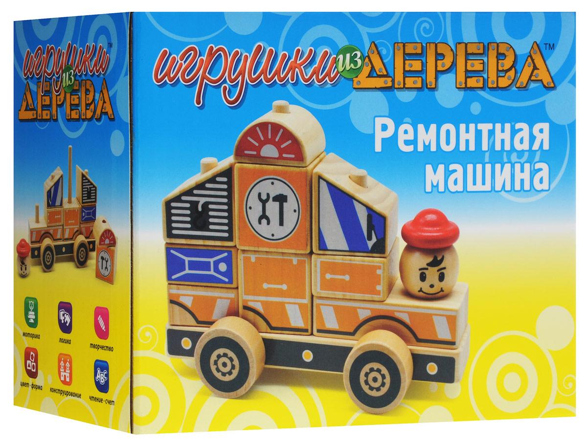 Мир деревянных игрушек Автомобиль-конструктор №3  - купить со скидкой