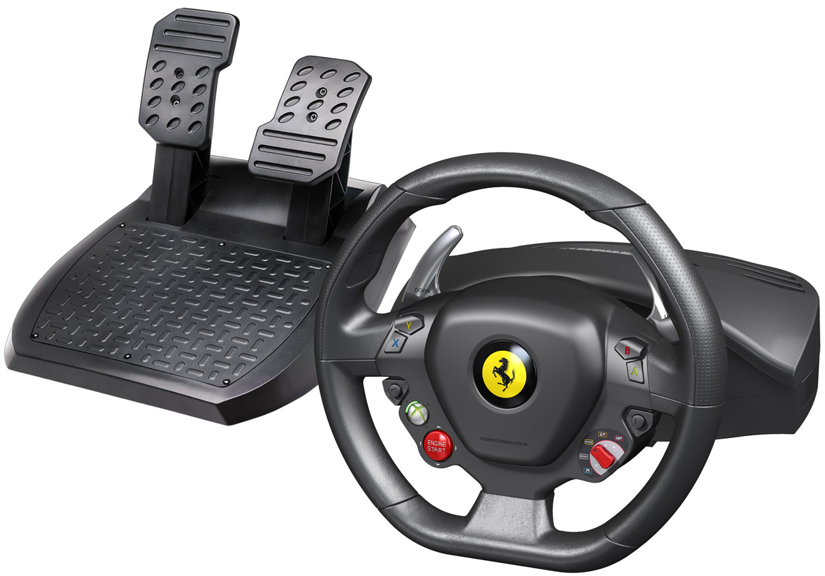 все цены на Thrustmaster Ferrari 458 Italia Racing Wheel руль для PC/Xbox 360 (2960734)