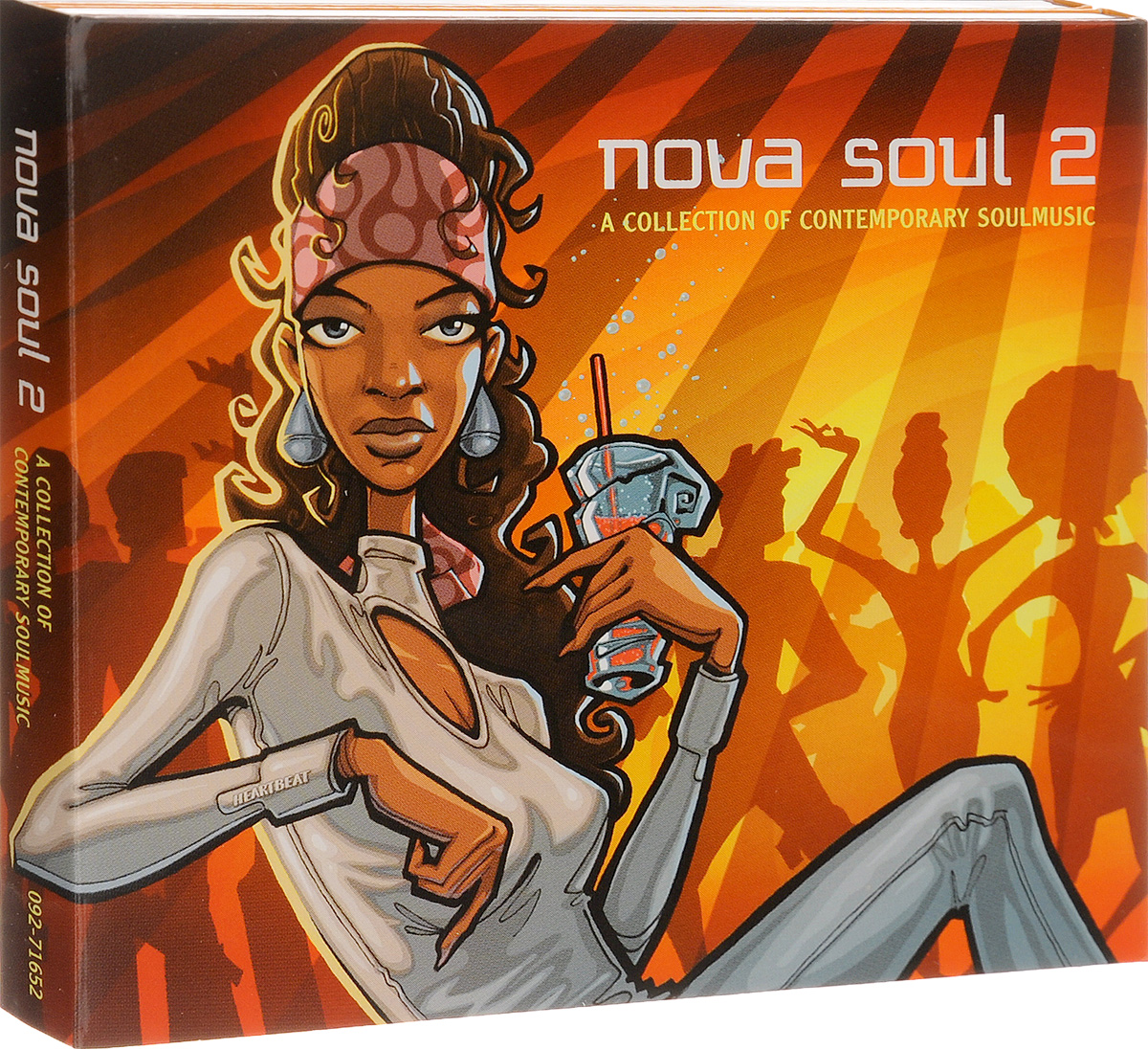 The Quantic Soul Orchestra Nova Soul Vol. 2 (2 CD) relaxation 2 cd