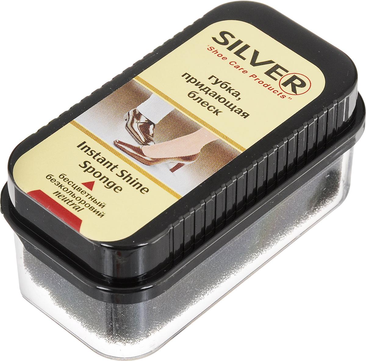 Губка для обуви Silver