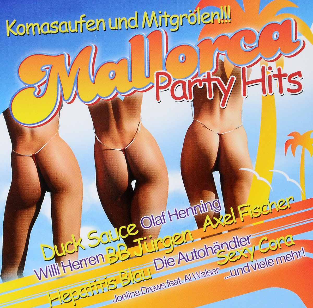 Mallorca Party Hits (2 CD) астор пьяццолла карлос гардел анибал троило нелли омар альберто гомез tango hits 2 cd