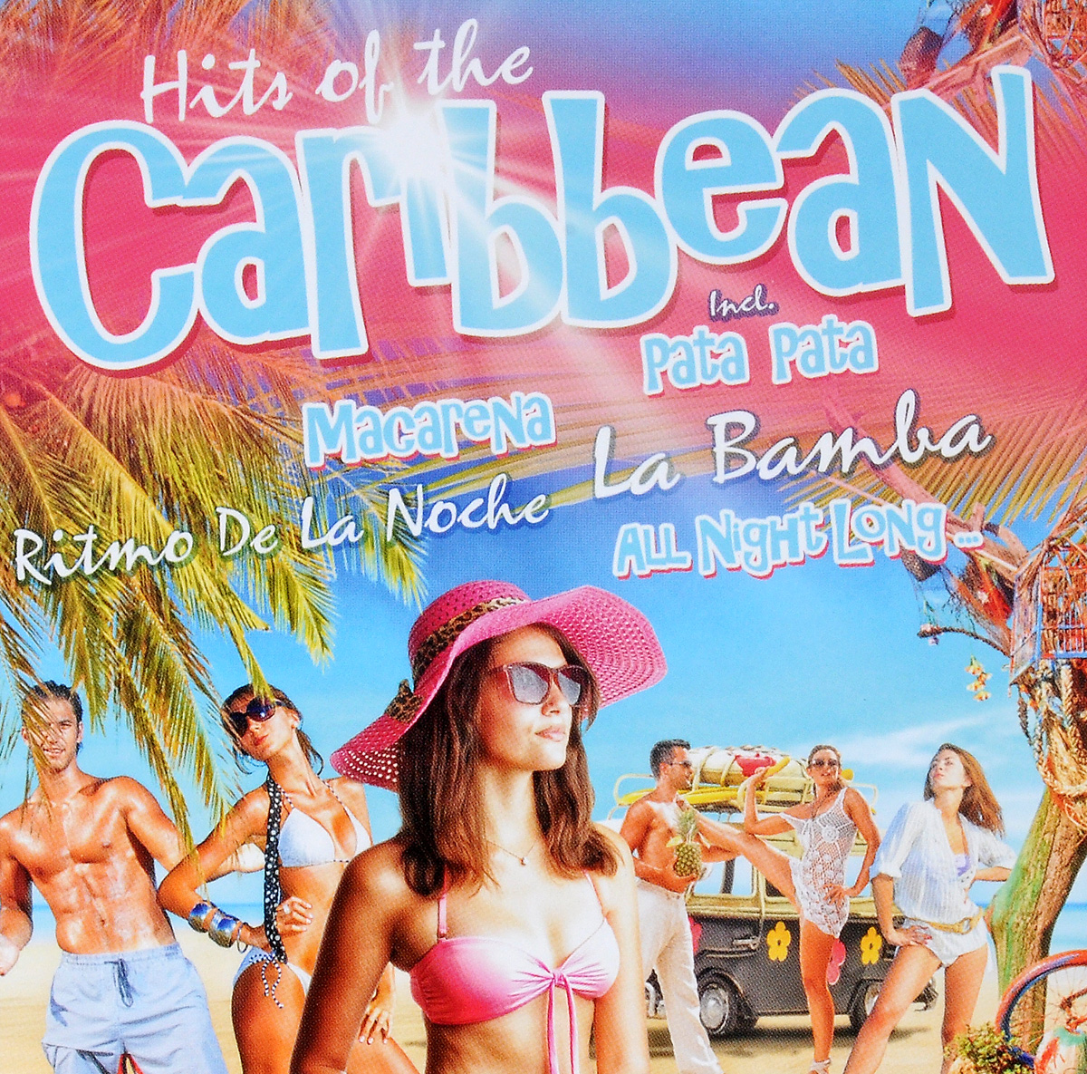 Hits Of The Caribbean (2 CD) массимо фарао piano world hits 2 cd