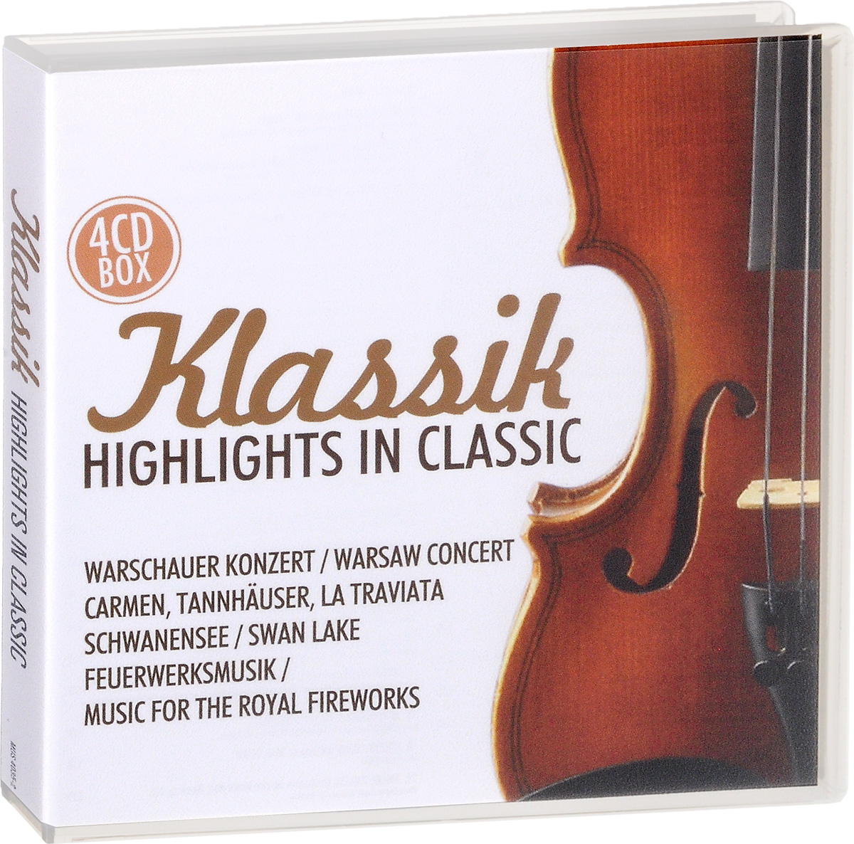 Zakazat.ru Klassik. Highlights In Classic (4 CD)