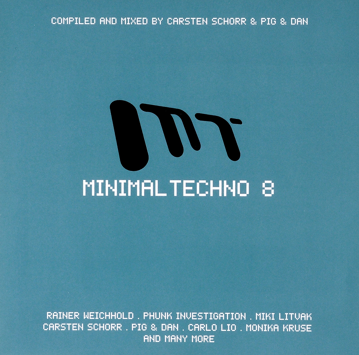 Minimal Techno 8 (2 CD) minimal house 3 2 cd