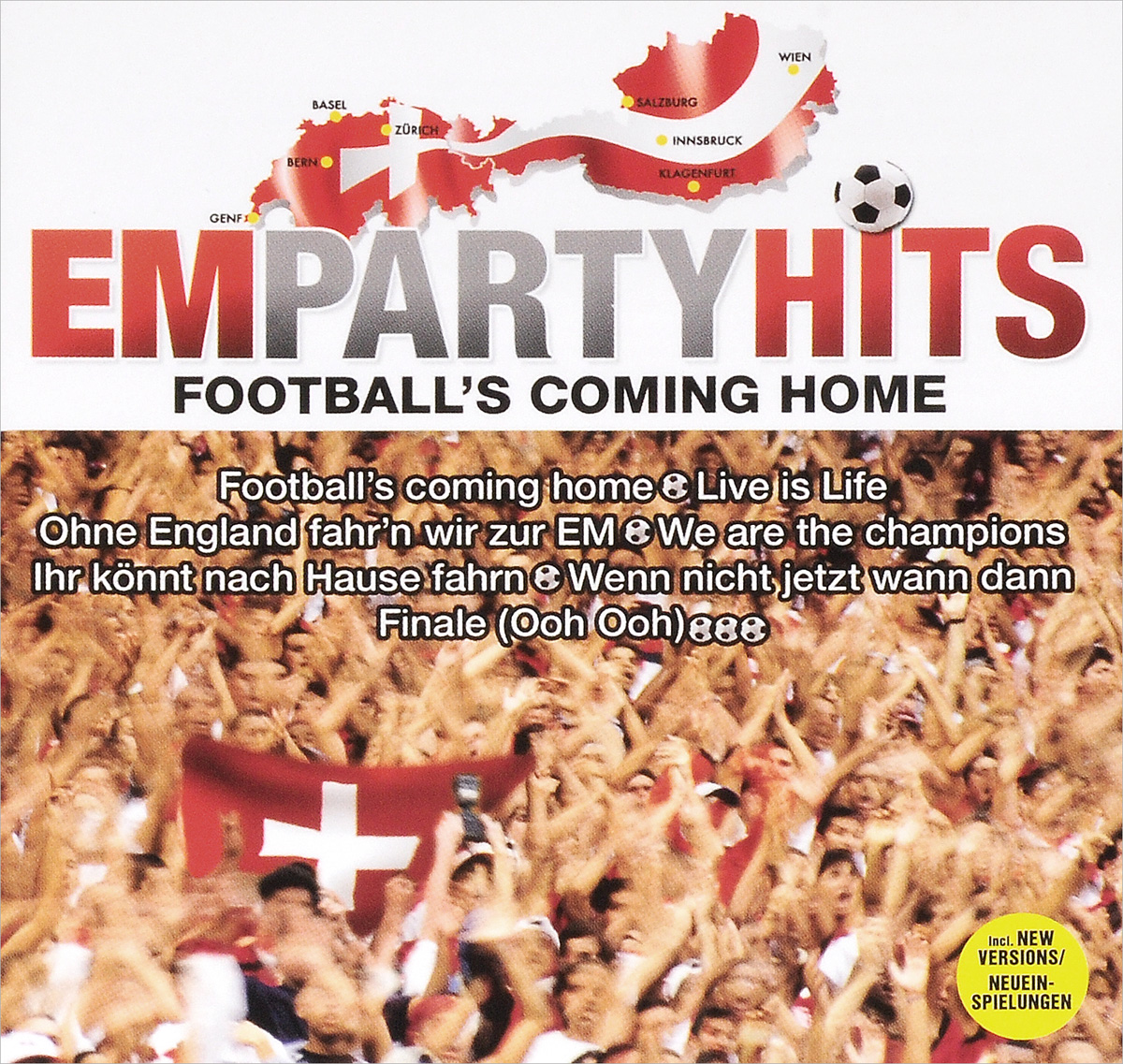 Crew 7 Em Party Hits. Football's Coming Home (2 CD) madagascar 5 kita party hits 2