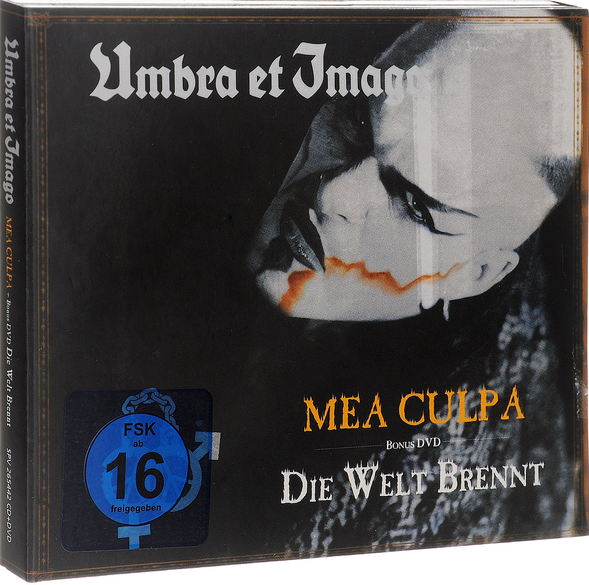 Umbra Et Imago Umbra Et Imago. Mea Culpa / Die Welt Brennt (CD + DVD) china custom shop transparant grey finish lp electric guitars with mahogany solid body for sale