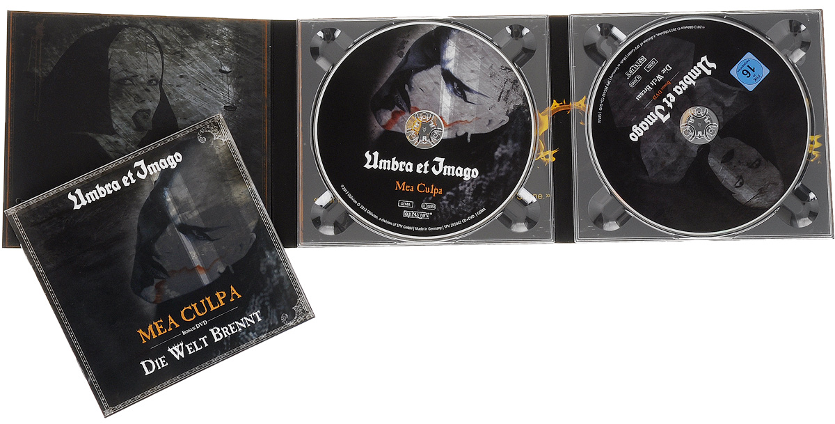 Umbra Et Imago.  Mea Culpa / Die Welt Brennt (CD + DVD) Oblivion